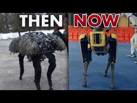 The Evolution of Boston Dynamics