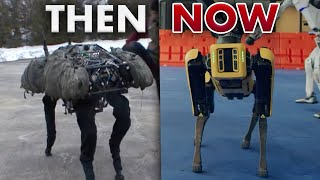 The Evolution of Boston Dynamics