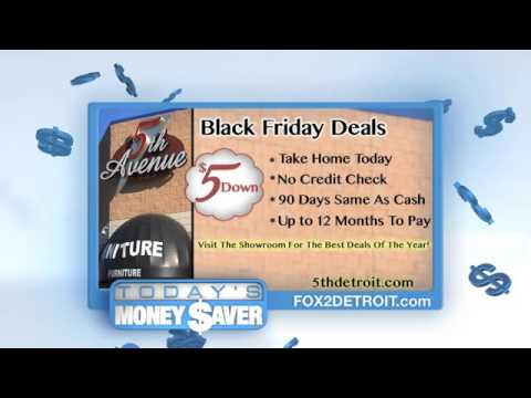 Black Friday Deals At 5th Avenue Furniture Youtube