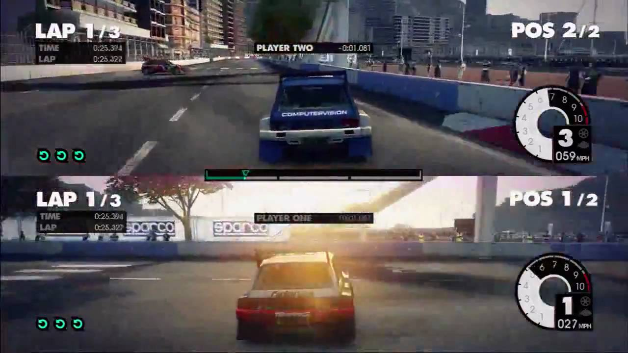 dirt 3 split screen gameplay hd youtube. Black Bedroom Furniture Sets. Home Design Ideas