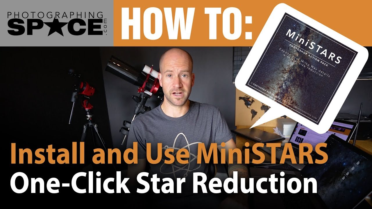 MiniSTARS Action Pack for Adobe Photoshop