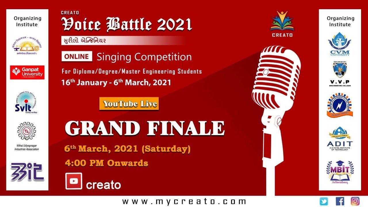 Download CREATO VOICE BATTLE 2021_GRAND FINALE