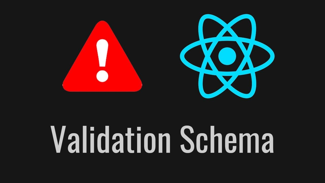 How to Share Validation between React js and Node js with Yup