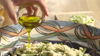 How To Make Orzo And Shrimp Salad With Asparagus