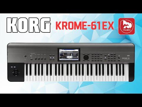 KORG KROME-61 EX Музыкальная рабочая станция