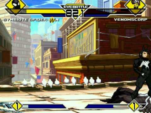 Mugen: Scorpion Venom vs Spider Venom HD Quality
