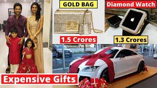 New List Of Top 10 Most Expensive Birthday Gifts In Bollywood - Tiger Shroff, Anushka Sharma, Salman
