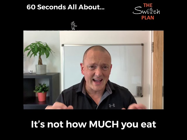 Its not how MUCH you eat