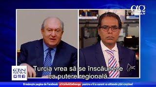 Interviu cu președintele Armeniei despre conflictul din Nagorno-Karabah | Știre Alfa Omega TV