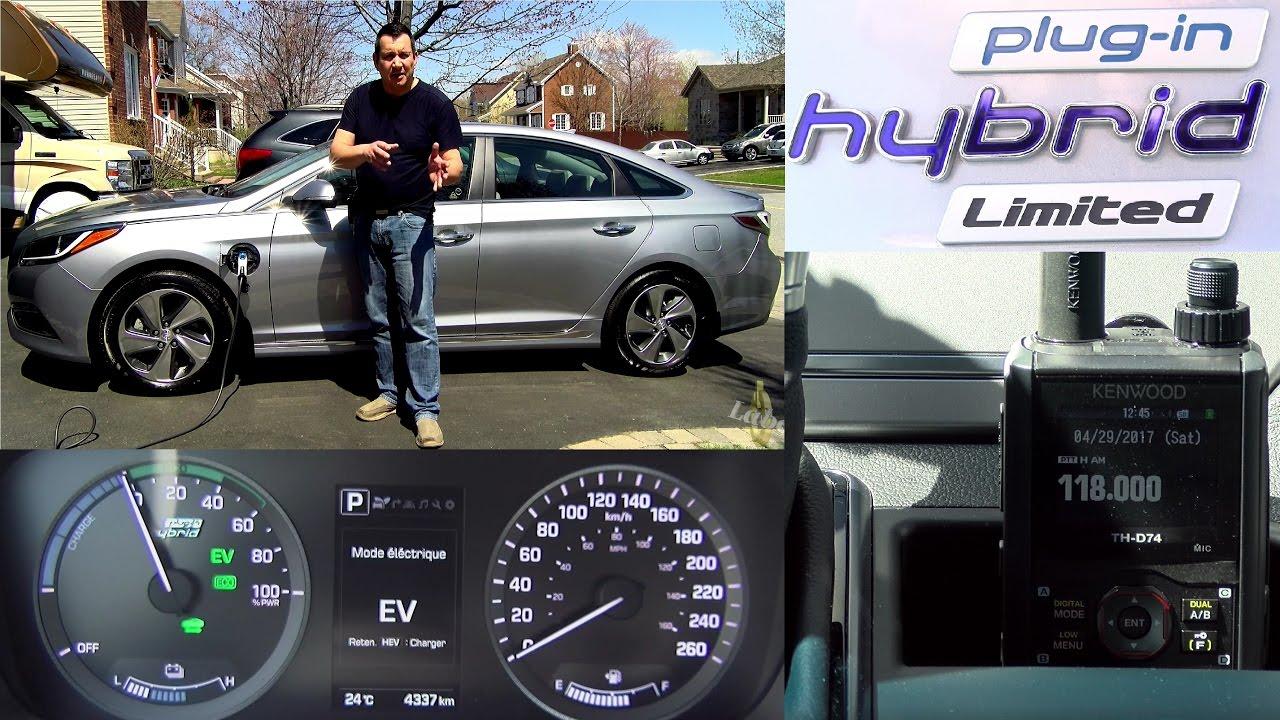 Hyundai Sonata 2017 Plug In Hybrid Does Electric Car Interfere With Ham Radio