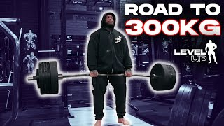 ROAD TO A 300KG PULL// KUBA CIELEN // LEVEL UP EPISODE 16