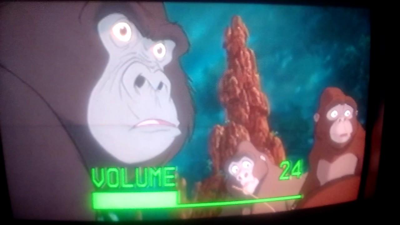 Tarzan 1999 Elephant Stampede Youtube