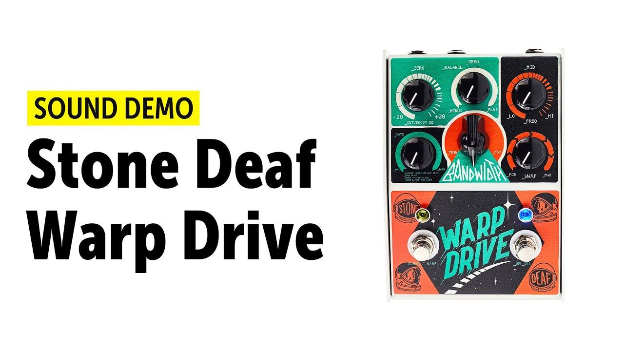 stone deaf effects warp drive high gain guitar pedal. Black Bedroom Furniture Sets. Home Design Ideas