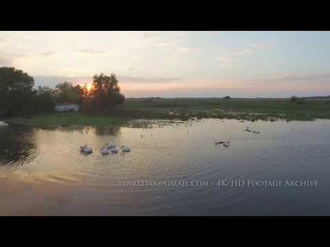 Danube Delta 2017 Raw Footage, Romania