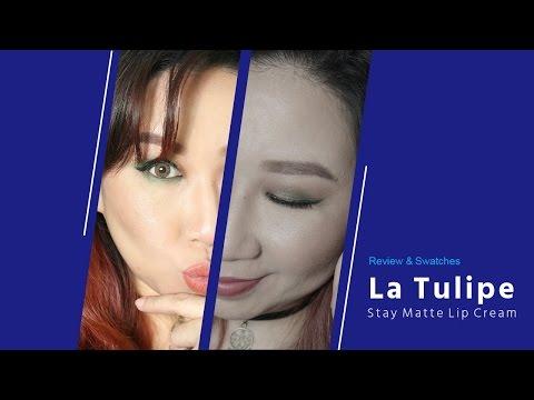 la-tulipe-stay-matte-lip-cream-||-swatches-&-review