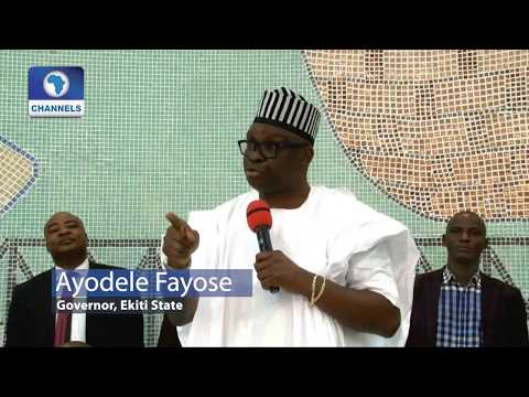 Fayose Visits Benue, Defends Anti-Open Grazing Law