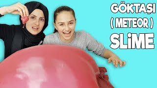 GÖKTAŞI ( Meteor ) SLİME | En Güzel Slime 😍 | The Most Beautiful Slime