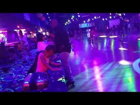 Skate party about a month ago.. FunCity skating rink in Houston TX