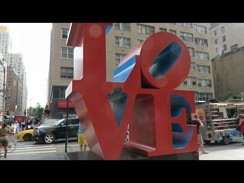New York 2016: escultura Love, B&H Photo y vuelta a casa - 동영상