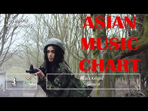The Official Asian Music Chart 40 week April 29 2017