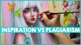 THE DIFFERENCE BETWEEN INSPIRATION AND PLAGIARISM 🎨 Studio Sessions Ep. 10