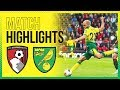 HIGHLIGHTS | AFC Bournemouth 0-0 Norwich City | City Earn A Point On The Road