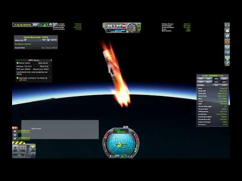 KSP: How to land a rocket stage with Python