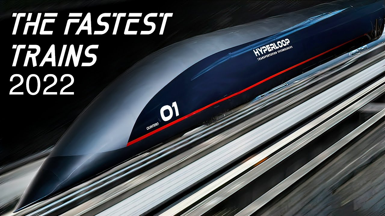 Download Top 10 Fastest Trains In The World   Will these trains reach the speed of sound?