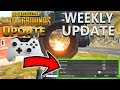 NEW Player Unknown's Battlegrounds Patch Update Xbox: Controller Preset: B & Pistol Inventory Change