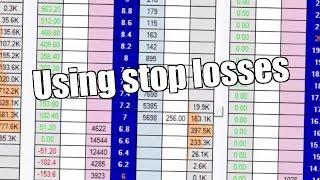 Betfair trading - Bet Angel - Peter Webb on using stop losses