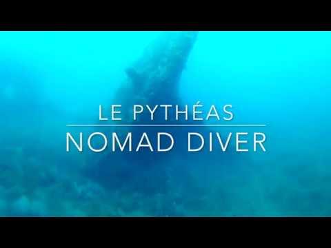 Plongée sur l'épave du Pythéas by Nomad Diver