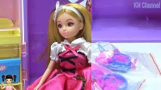 BabyBus - Tiki Mimi và Trò Chơi tủ quần áo đep mê ly của búp bê lelia tập 1