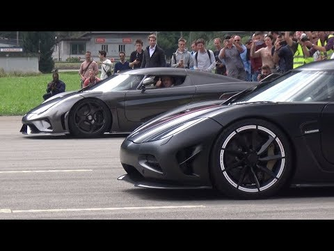 HYPERCARS Drag Races! – Koenigsegg Agera vs Regera vs Huayra vs LaFerrari vs 918 & More!