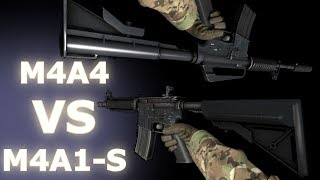 CS:GO -  M4A4 VS M4A1-S