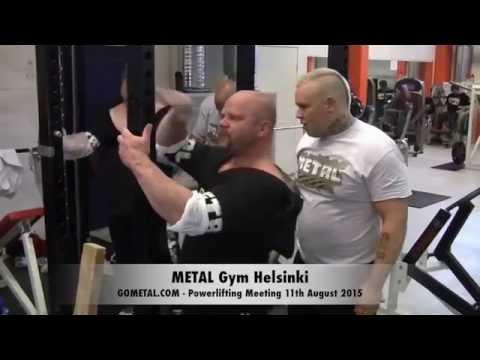 Powerlifting Meeting @ METAL Gym Helsinki