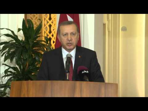 Turkish President Recep Tayyip Erdogan in Qatar