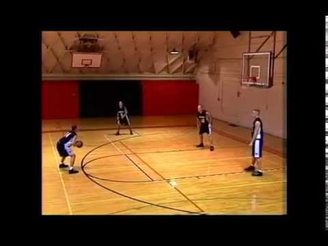 Basketball Offense: High Post Double Screen