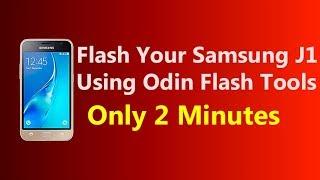 How to Flash Samsung Galaxy J1 2016 Using Odin || RJ Solution ||