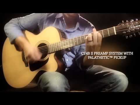 Takamine™ Pro Series P1JC 12 Acoustic-Electric Guitar