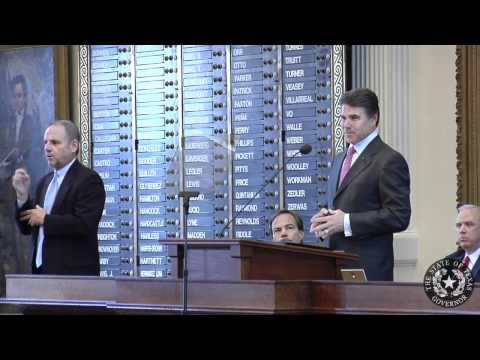 Gov. Perry: We Must Reform, Streamline State Government