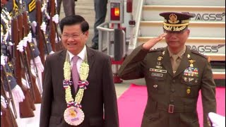 Prime minister of Laos arrives in PH for 31st Asean Summit thumbnail