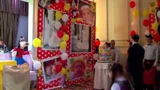 Детский День Рождения. Вечеринка в стиле WALT DISNEY. Одесса, Ренессанс. 2015 год