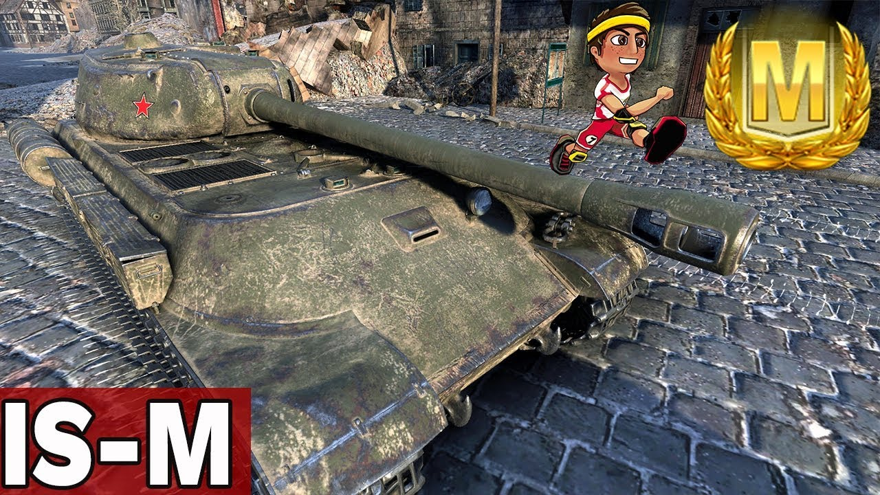 ŁATWY AS PANCERNY – IS-M- World of Tanks