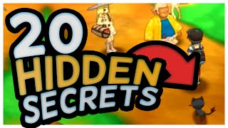 20 HIDDEN SECRETS from POKÉMON SUN AND MOON GAMEPLAY!!