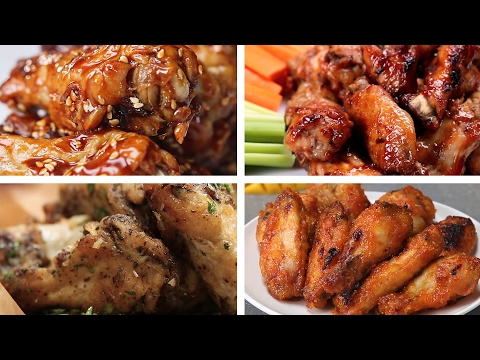Chicken Wings 7 Ways