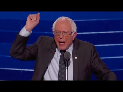 Bernie Sanders proud to stand with Hillary at the DNC 2016 (Full speech)