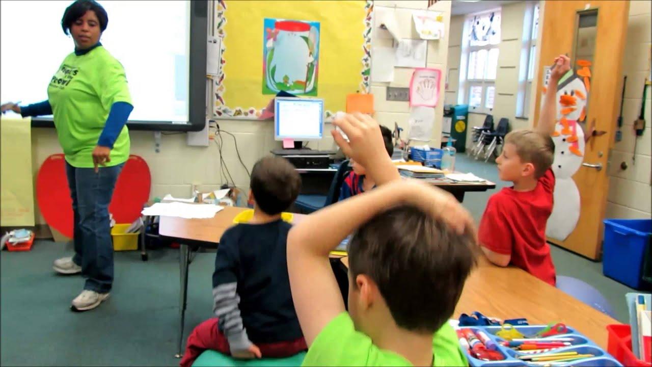 Davidson Elementary Class Sit Bouncy Balls Not Chairs