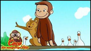 Coco der Neugierige Affe Deutsch🐵Coco geht verloren 🐵Ganze Folgen🐵Cartoons für Kinder