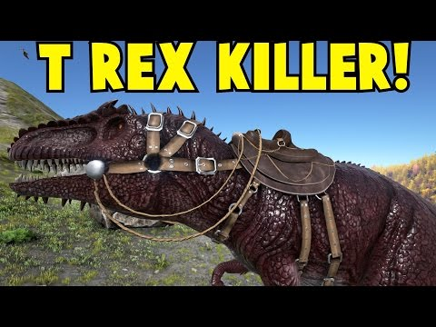 T Rex Killer Giganotosaurus: Ark Survival Evolved