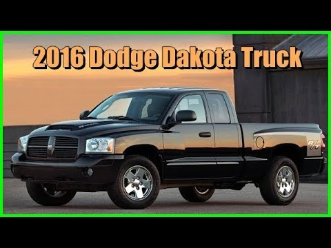 2016 Dodge Dakota Truck Interior And Exterior